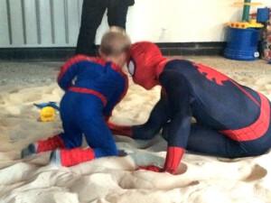 Kindergeburtstag mit Spider Hero in Leverkusen IMG_1009