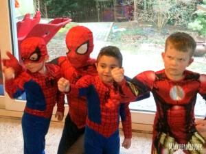 Kindergeburtstag mit Spider Hero in Leverkusen IMG_1032