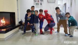 Superhelden-Training mit Spider Hero in Duisburg